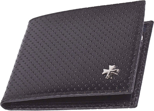 Кошельки бумажники и портмоне Narvin 9669-n-armani-black