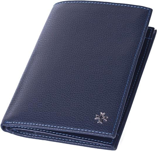 Кошельки бумажники и портмоне Narvin 9672-n-polo-d-blue бумажник d