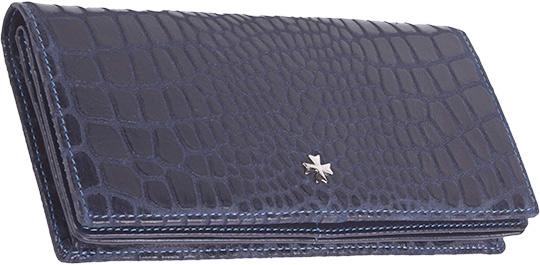 купить Кошельки бумажники и портмоне Narvin 9680-n-aligro-indigo недорого