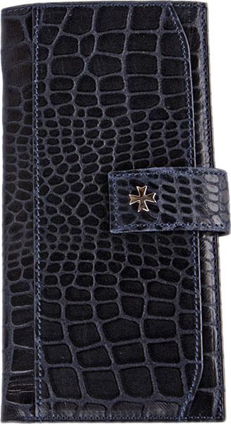 Кошельки бумажники и портмоне Narvin 9684-n-aligro-indigo