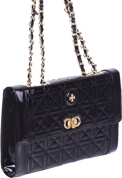 Кожаные сумки Narvin 9943-rugan-black