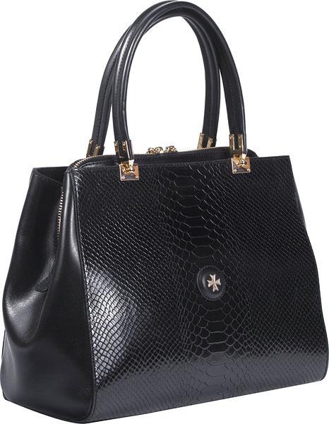 купить Кожаные сумки Narvin 9978-n-ana-black по цене 41980 рублей