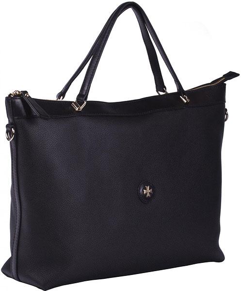 купить Кожаные сумки Narvin 9979-n-black по цене 35780 рублей