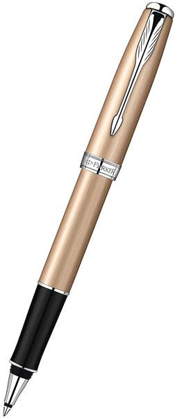 ручка роллер parker sonnet t540 чернила черные корпус золотистый s0947280 Ручки Parker S0947280
