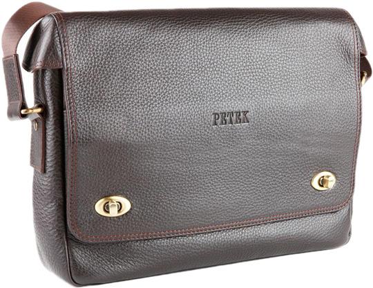 где купить Кожаные сумки Petek 3895.46B.KD2 по лучшей цене