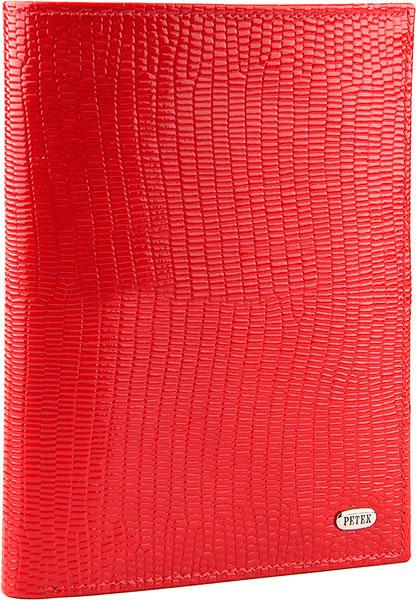Кошельки бумажники и портмоне Petek 597.173.10 обложка для паспорта и портмоне мужское red цвет красный 597 4000 10