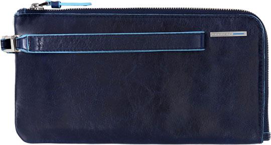 цена Кошельки бумажники и портмоне Piquadro AC2648B2/BLU2 онлайн в 2017 году