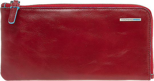 Кошельки бумажники и портмоне Piquadro AC2648B2/R кошельки бумажники и портмоне piquadro pu4188p15 n
