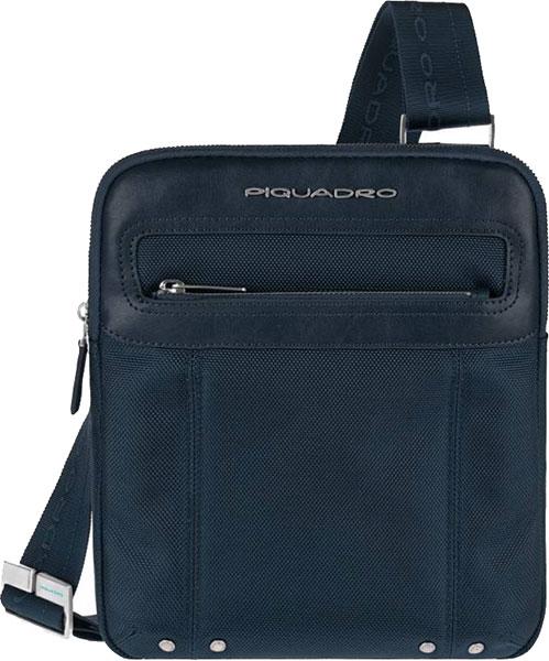 Кожаные сумки Piquadro CA1358LK/BLU2 рюкзак piquadro link синий кожа и ткань ca2961lk blu2