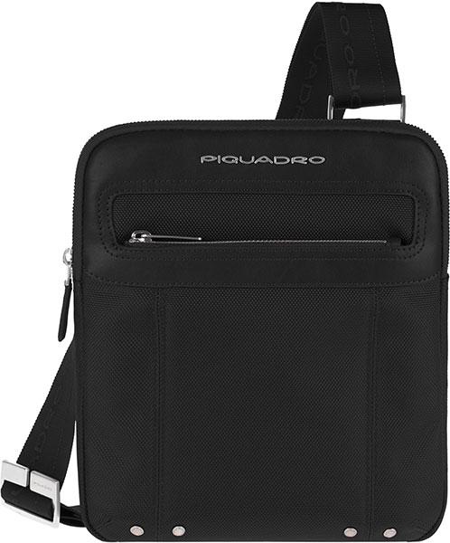 Кожаные сумки Piquadro CA1358LK/N сумка piquadro черный