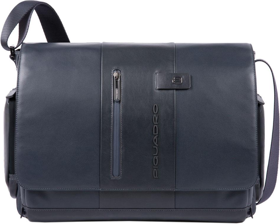Кожаные сумки Piquadro CA1592UB00/BLU