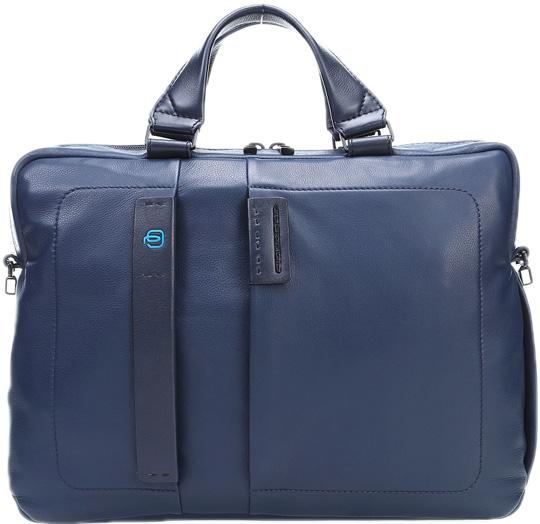 Кожаные сумки Piquadro CA1903P15/BLU3 сумка piquadro ca4177p15 blu3