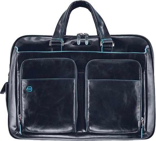 Кожаные сумки Piquadro CA2765B2/BLU2