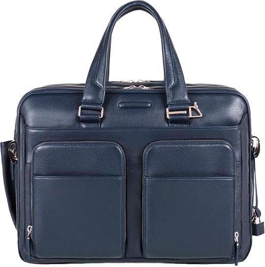 Кожаные сумки Piquadro CA2765MO/BLU
