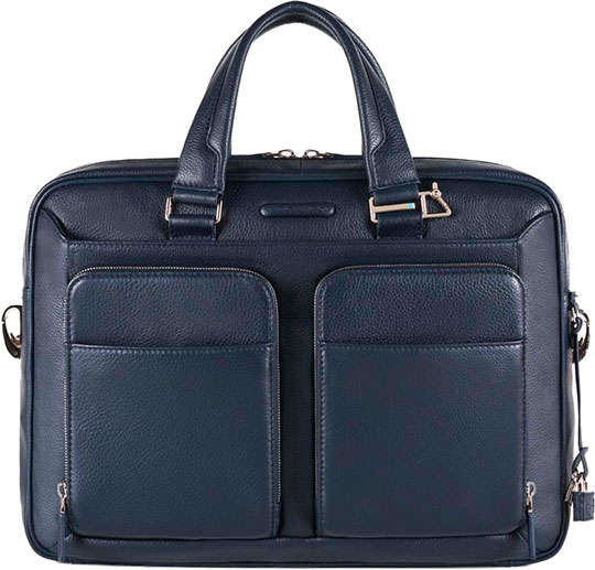 Кожаные сумки Piquadro CA2849MO/BLU