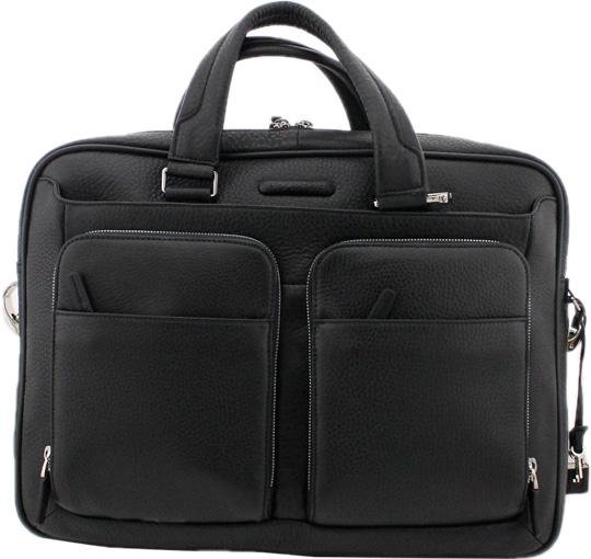 цена Кожаные сумки Piquadro CA2849MO/N онлайн в 2017 году