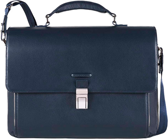Портфели Piquadro CA3111MO/BLU новый джей слоан jasloong мужчин кожа сумки в европе и прилив кожной досуг портативный 16 дюймов компьютер пакет me