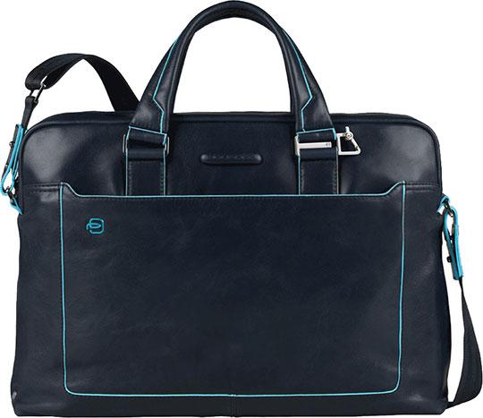 Кожаные сумки Piquadro CA3335B2/BLU2