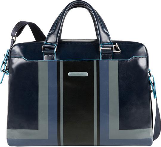 Кожаные сумки Piquadro CA3335B2SER/BLU