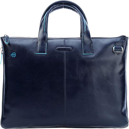 Кожаные сумки Piquadro CA4021B2/BLU2 ноутбук 10 дюймов