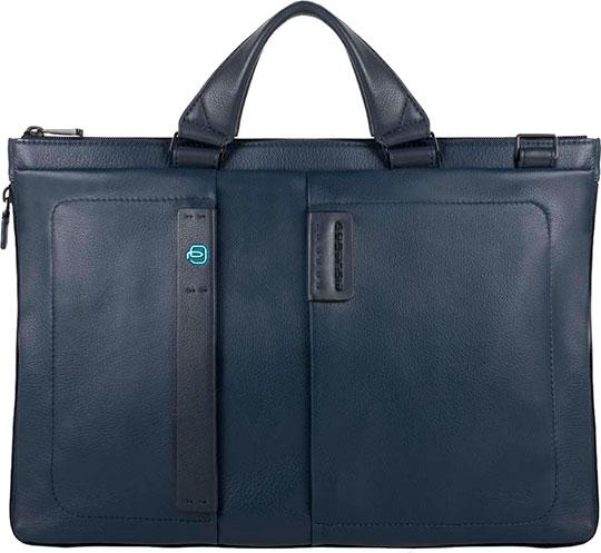 Кожаные сумки Piquadro CA4021P15/BLU3 сумка piquadro ca4177p15 blu3