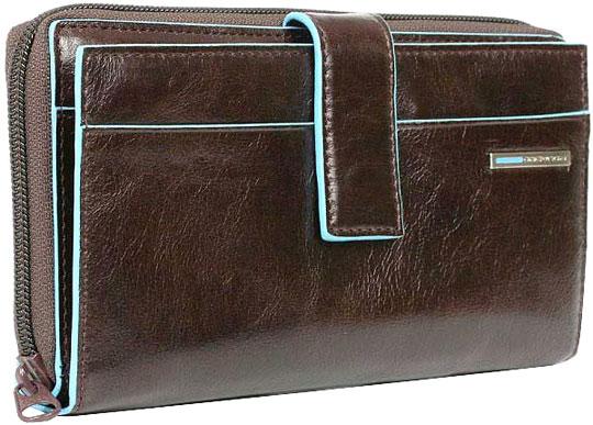 Кошельки бумажники и портмоне Piquadro PD1354B2/MO кошельки бумажники и портмоне piquadro pu4188p15 n