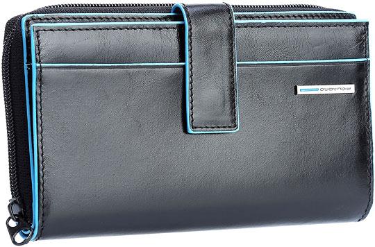 Кошельки бумажники и портмоне Piquadro PD1354B2/N кошельки бумажники и портмоне piquadro pu4188p15 n