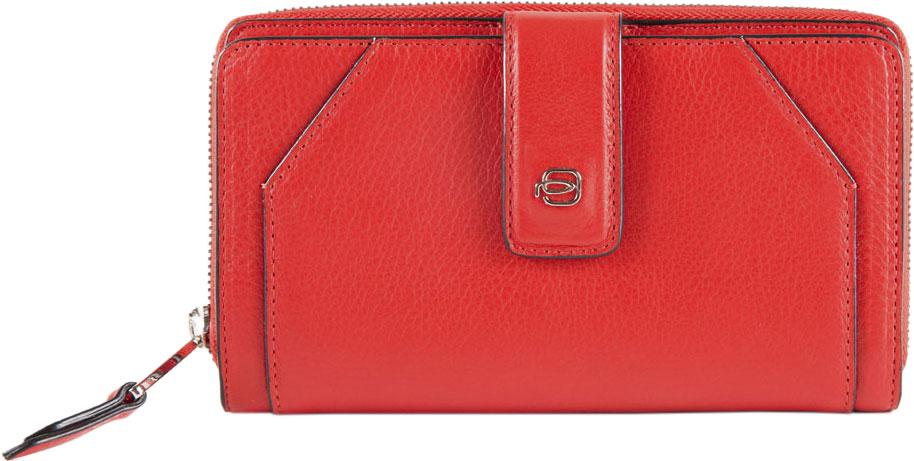 Кошельки бумажники и портмоне Piquadro PD1354MUR/R кошельки eshemoda портмоне слим аллигатор красный