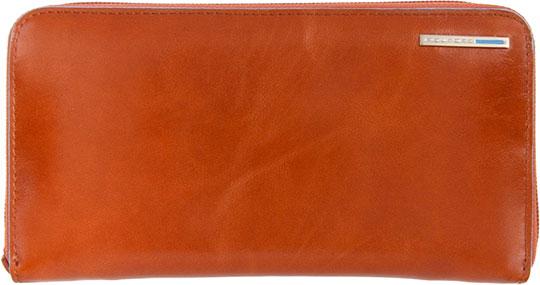 Кошельки бумажники и портмоне Piquadro PD1515B2/AR кошельки бумажники и портмоне piquadro pu4188p15 n