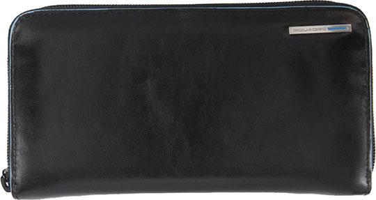 Кошельки бумажники и портмоне Piquadro PD1515B2/N кошельки бумажники и портмоне piquadro pu4188p15 n