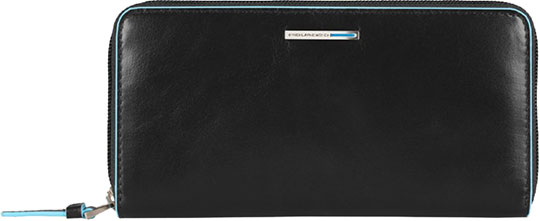 Кошельки бумажники и портмоне Piquadro PD3229B2/N кошельки бумажники и портмоне piquadro pu4188p15 n