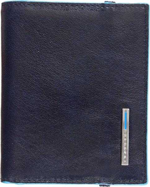 Визитницы и кредитницы Piquadro PP1395B2/BLU2 чехол для кредитных карт piquadro pulse pu1243p15s blu2 синий натур кожа