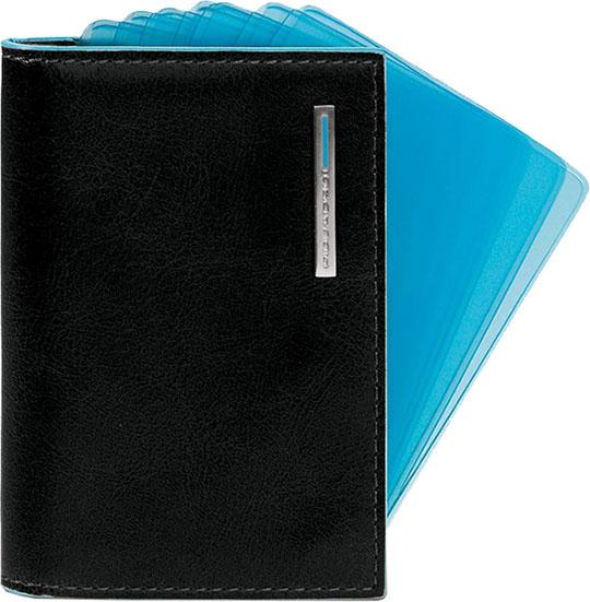 Визитницы и кредитницы Piquadro PP1661B2/N визитницы и кредитницы piquadro pu1243p15 n