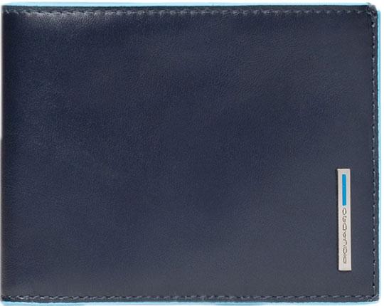 Кошельки бумажники и портмоне Piquadro PU1239B2R/BLU2 кошельки бумажники и портмоне piquadro pu4188p15 n