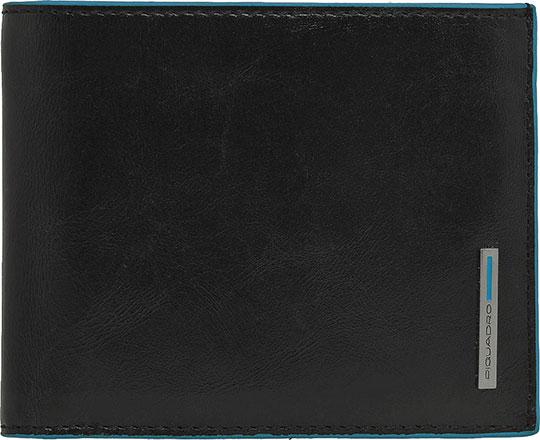 Кошельки бумажники и портмоне Piquadro PU1240B2/N кошельки бумажники и портмоне piquadro pu4188p15 n
