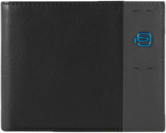 Кошельки бумажники и портмоне Piquadro PU1240P15/N кошельки бумажники и портмоне piquadro pd3229b2 r