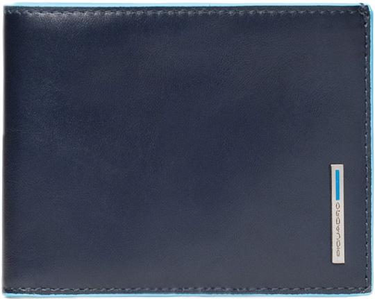 Кошельки бумажники и портмоне Piquadro PU1241B2R/BLU2 цена и фото