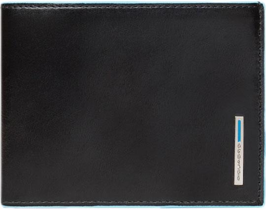 Кошельки бумажники и портмоне Piquadro PU1241B2R/N кошельки бумажники и портмоне piquadro pu257p15 n