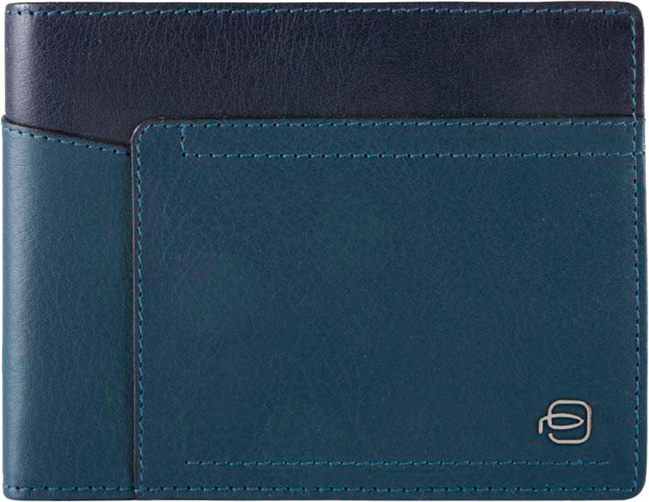 Кошельки бумажники и портмоне Piquadro PU1241W82R/BLU