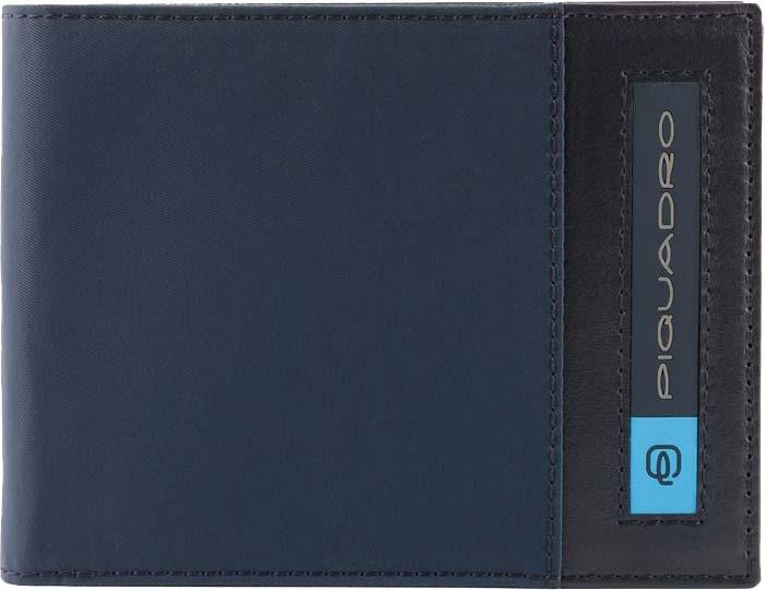 Кошельки бумажники и портмоне Piquadro PU1392BIO/BLU Piquadro   фото