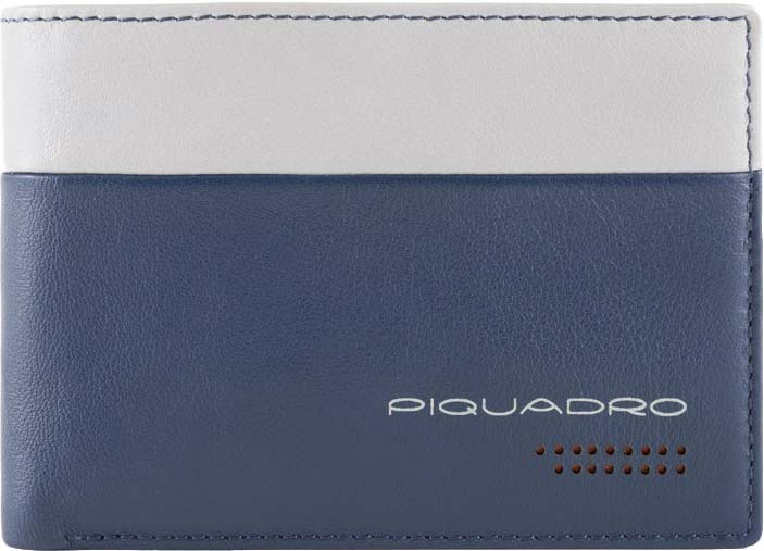 Кошельки бумажники и портмоне Piquadro PU1392UB00R/BLGR