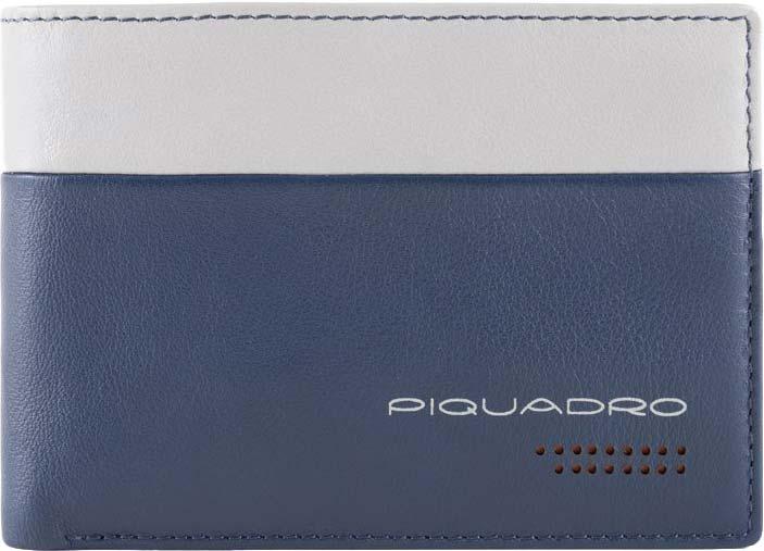 Кошельки бумажники и портмоне Piquadro PU1392UB00R/BLGR Piquadro   фото