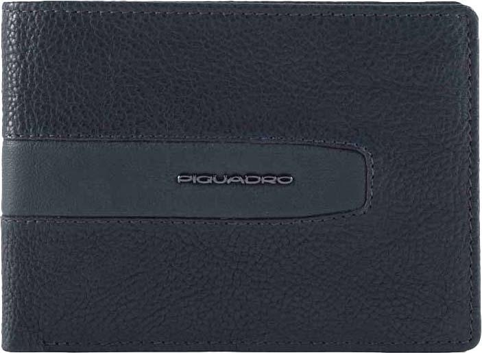 Кошельки бумажники и портмоне Piquadro PU1392W101R/BLU Piquadro   фото