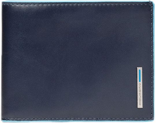 Кошельки бумажники и портмоне Piquadro PU257B2R/BLU2 кошельки бумажники и портмоне piquadro pu4188p15 n