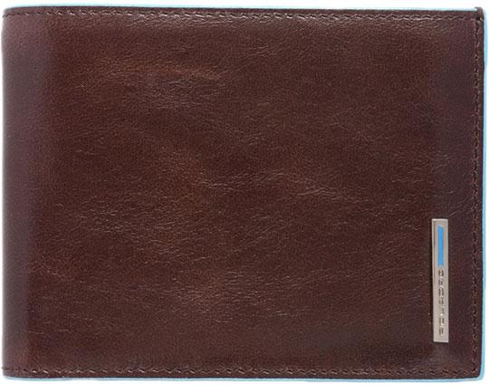Кошельки бумажники и портмоне Piquadro PU257B2R/MO кошельки бумажники и портмоне mano 20300 black blue