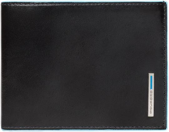 Кошельки бумажники и портмоне Piquadro PU257B2R/N кошельки бумажники и портмоне piquadro pu4188p15 n
