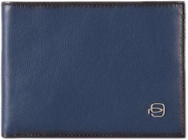Кошельки бумажники и портмоне Piquadro PU257EDR/BLU кошельки бумажники и портмоне piquadro pu4188p15 n