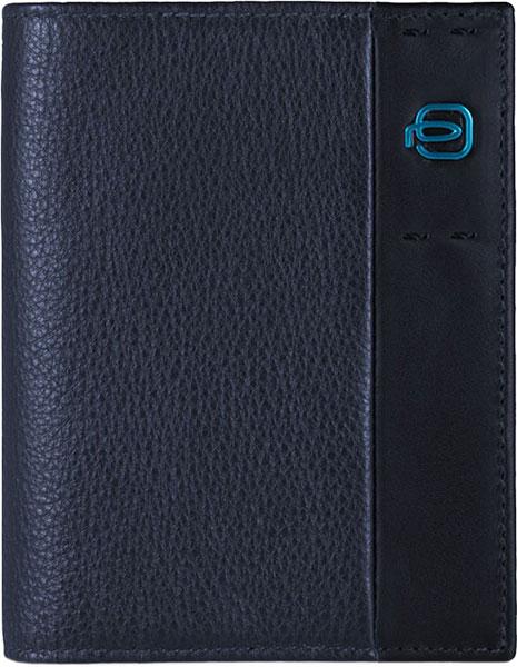 Кошельки бумажники и портмоне Piquadro PU3244P15/BLU3 кошельки бумажники и портмоне piquadro pu257p15 blu3