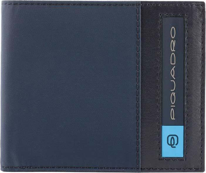 Кошельки бумажники и портмоне Piquadro PU3891BIO/BLU