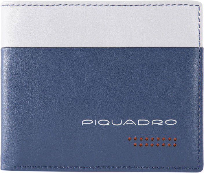 Кошельки бумажники и портмоне Piquadro PU3891UB00R/BLGR